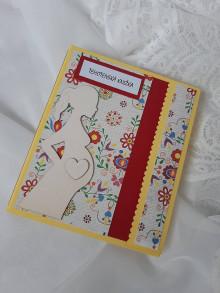 Papiernictvo - Obal na tehotenskú knižku - 12987032_