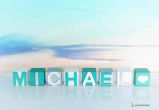 Hračky - Kocky Michael - 12990125_