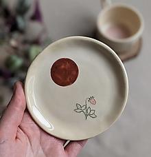 Nádoby - keramická šperkovnica  (jahoda #1) - 12992748_