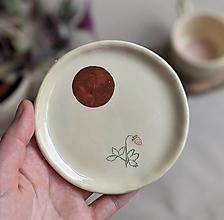 Nádoby - keramická šperkovnica  (jahoda #2) - 12992751_