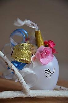 Dekorácie - Vajíčko (Vajíčko s kučierkami) - 12992788_