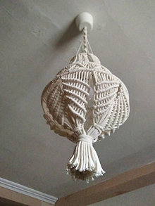 Iné doplnky - Zavesna lampa - 12992222_