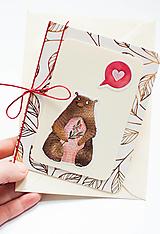 """Papiernictvo - Pohľadnica """"Brum Love"""" - 12990982_"""
