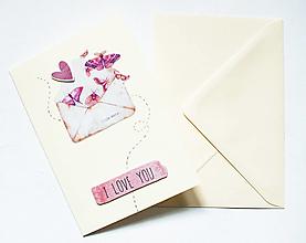 """Papiernictvo - Pohľadnica """"Little Note"""" - 12990956_"""