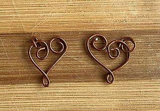 Iné šperky - Srdiečka On a Ona - 12991702_