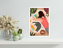 Grafika - Studium umění - umělecký tisk - 12996042_