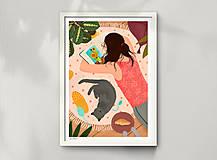 Grafika - Studium umění - umělecký tisk - 12996046_