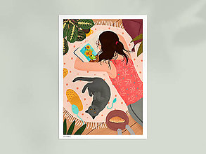 Grafika - Studium umění - umělecký tisk - 12996044_