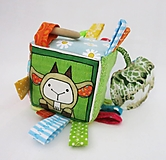 Hračky - Úchopová kocka - kozička - 12995353_