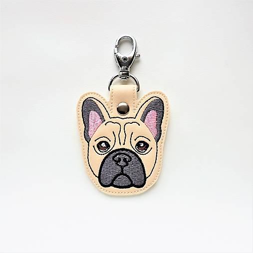 Kľúčenka psík buldoček