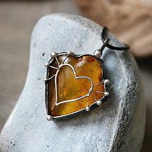 Náhrdelníky - Slnko v mojom živote (jantár) - 12995750_