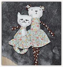 Hračky - Mačička - 12995167_
