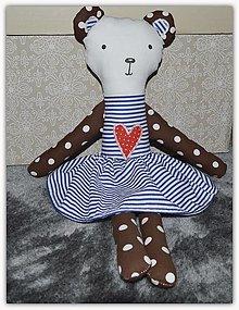 Hračky - Macko v sukni - 12995179_