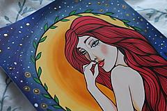 Kresby - Prišla z tvojho sna - originál - 12996406_