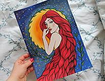 Kresby - Prišla z tvojho sna - originál - 12996410_