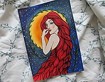 Kresby - Prišla z tvojho sna - originál - 12996446_