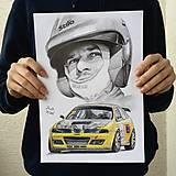 Kresby - Portrét (auto) na objednávku - 12995653_