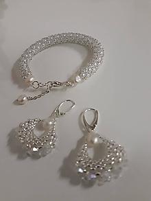 Sady šperkov - Perličkovo-Perlový - 12995025_