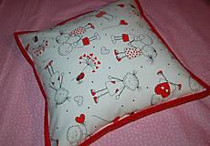 Úžitkový textil - zamilovaný - 12998412_