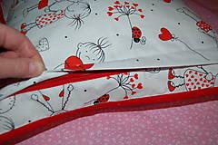 Úžitkový textil - zamilovaný - 12998414_