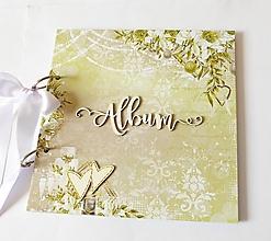 Papiernictvo - svadobný album na fotografie - 13001354_