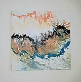 Obrazy - Prúdenie, 50 x 50 cm, akryl - 13000013_