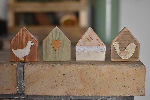 Dekorácie - Jarné domčeky - 13001299_