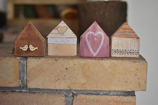 Dekorácie - Jarné domčeky - 13001315_