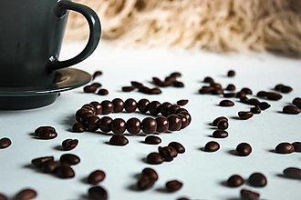 Náramky - Hnedé ako káva - 13004800_