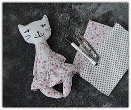 Hračky - Mačička s pískatkom - 13000093_