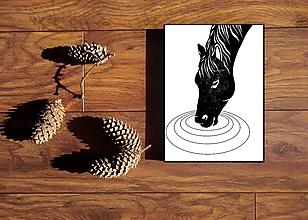 Grafika - Smädný kôň (1+1 podľa Vášho výberu) - 12999865_