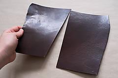 Suroviny - Zbytková hladenica väzy tmavohnedá lesklá 2–2,5 mm - 13002527_