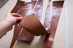 Suroviny - Zbytková hladenica väzy karamelová lesklá 2–2,5 mm - 13003280_