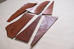 Suroviny - Zbytková hladenica väzy karamelová lesklá 2–2,5 mm - 13003293_