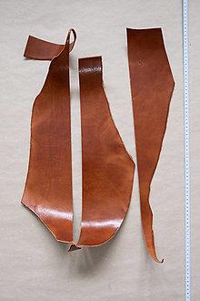 Suroviny - Zbytková hladenica väzy karamelová lesklá 2–2,5 mm (bal č. 5) - 13003285_
