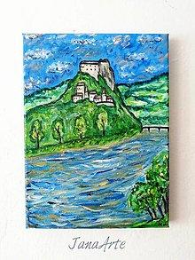 Obrazy - Obraz Oravský hrad (Orava castle) - 13001835_