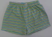 Detské oblečenie - Letňásky chlapčenské trenky biobavlna - 13001202_