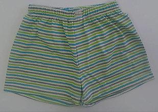 Detské oblečenie - Letňásky 2ks chlapčenské trenky biobavlna - 13001232_