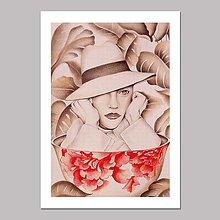 Grafika - Coffee dreamer grafika black &white - 13000305_