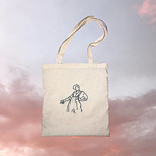 Nákupné tašky - Harry Styles - bavlnená taška - 13002822_