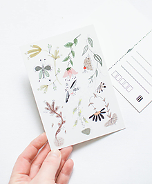 """Papier - Pohľadnica """"jar"""" - 13003728_"""