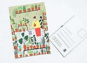 """Papier - Pohľadnica """"domov"""" - 13003750_"""