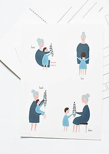"""Papier - Pohľadnica """"lern to be nice"""" - 13004048_"""