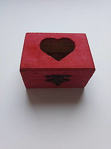 Krabičky - Malinovo-ružová krabička - 13001879_