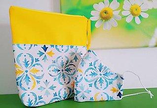 Rúška - Rúško a kozmetická taštička Monako - 13001235_