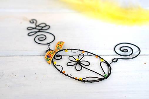 Dekorácie - Jarná dekorácia - 13000794_