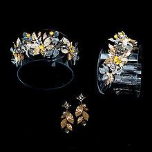 Sady šperkov - sada zlatá Zuzana, typ 195 - 13009452_