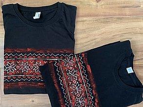 Tričká - Maľované tričká set Preňho a pre ňu - 13007229_
