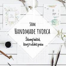 Papiernictvo - PDF Náplne do diára A5 pre handmade tvorcov + Kalendár 2021 - 13009288_
