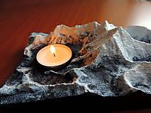 Svietidlá a sviečky - Svietnik MOUNT EVEREST - 13008259_